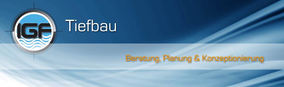 Professionelle Planung & Bauleitung im Bereich Tiefbau für alle Bauprojekte